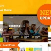 پوسته راه اندازی سایت آموزش آنلاین Education برای وردپرس