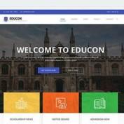 دانلود قالب مخصوص موسسات آموزشی Educon برای جوملا