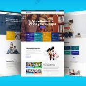 راه اندازی آموزش آنلاین در وردپرس با قالب وردپرس Edumodo