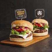 دانلود طرح موکاپ همبرگر به صورت لایه باز