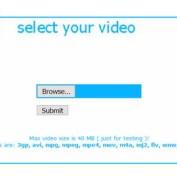 اسکریپت مبدل فایل های ویدئویی و صوتی آنلاین ffmpeg video converter