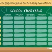 دانلود طرح لایه باز برنامه کلاسی با طراحی تخت سیاه