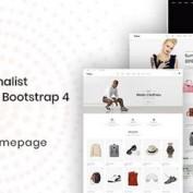 دانلود قالب HTML فروشگاهی Flone