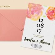 دانلود ست کامل کارت عروسی به صورت لایه باز