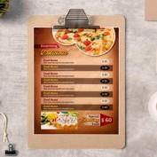 دانلود فایل لایه باز منوی غذایی رستوران و فست فود