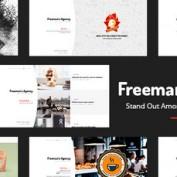 دانلود قالب نمونه کار Freeman برای وردپرس