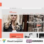 پوسته فروشگاهی مد و زیبای GFashion برای ووکامرس