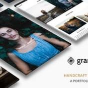 دانلود قالب نمونه کار Grand Portfolio برای وردپرس