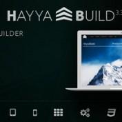 افزونه صفحه ساز با قابلیت طراحی سربرگ و فوتر HayyaBuild