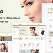 دانلود قالب HTML خلاقانه و فروشگاهی Hiraola