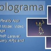 اسکریپت ایجاد واقعیت افزوده Holograma