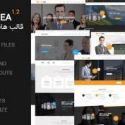 دانلود قالب خدمات میزبانی و هاستینگ hostlinea به صورت HTML