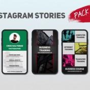 دانلود پروژه افتر افکت آماده استوری اینستاگرام Instagram Stories Pack 1
