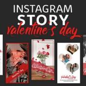 15 قالب استوری رمانتیک و عاشقانه اینستاگرام برای ولنتاین