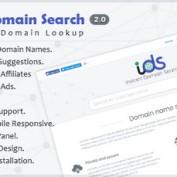 اسکریپت جستجوگر دامنه Instant Domain Search نسخه 2.0