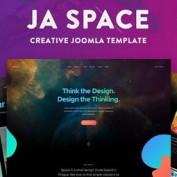 دانلود قالب JA Space برای جوملا
