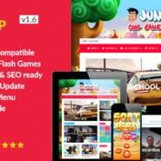 راه اندازی وب سایت بازی آنلاین با قالب وردپرس Jumbo