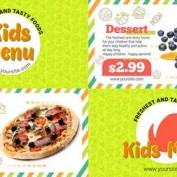 دانلود پروژه آماده افتر افکت نمایش منوی رستوران Kids Menu