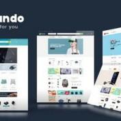 دانلود قالب فروشگاهی Korando برای مجنتو