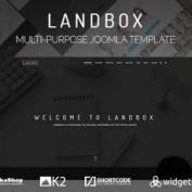 دانلود قالب چندمنظوره Landbox برای جوملا