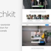 دانلود قالب HTML صفحه فرود Launchkit