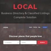 اسکریپت دایرکتوری و خدماتی فروشگاه یاب Local