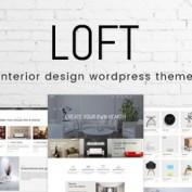 پوسته دکوراسیون و طراحی داخلی Loft برای وردپرس