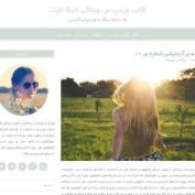 دانلود قالب وبلاگی وردپرس Lycka lite فارسی