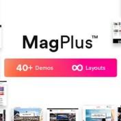 دانلود قالب مجله خبری MagPlus برای وردپرس