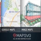 افزونه وردپرس نمایش نقشه حرفه ای MapSVG