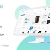 دانلود قالب لایه باز فروشگاه اینترنتی Maroni
