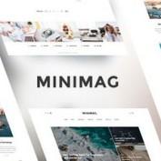 پوسته وبلاگ و مجله خبری MiniMag برای وردپرس
