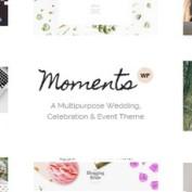 قالب تالار، عروسی، جشن و گردهمایی Moments برای وردپرس