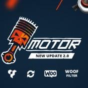 قالب فروش قطعات اتومبیل Motor برای ووکامرس
