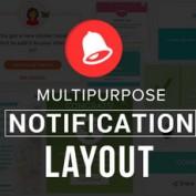 اسکریپت طرح های آماده اطلاع رسانی چندمنظوره Multipurpose Notification Layout