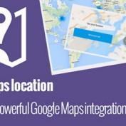 افزونه نمایش و جستجوی موقعیت مکانی برای جوملا My Maps location
