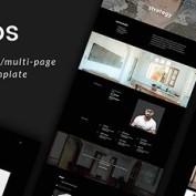 قالب HTML نمونه کارها Namos