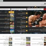قالب خبری وردپرس Newsphere فارسی