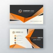 دانلود طرح کارت ویزیت شرکتی با رنگبندی نارنجی