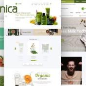 قالب فروشگاه محصولات ارگانیک Organica برای اپن کارت