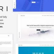 دانلود قالب HTML به زودی Petri