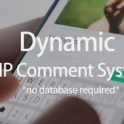 اسکریپت سیستم ثبت نظردهی PHP Comment System