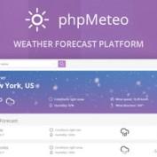 اسکریپت پیش بینی وضعیت آب و هوا phpMeteo