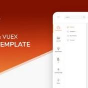 دانلود قالب HTML بخش مدیریت Piaf Vuejs