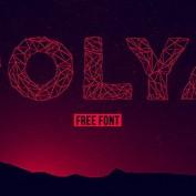 دانلود فونت رایگان و انگلیسی polya