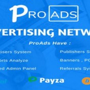 اسکریپت راه اندازی شبکه تبلیغاتی پیشرفته ProAds