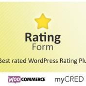 افزونه امتیاز دهی وردپرس Rating Form