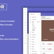 قالب HTML5 مدیریت وب سایت Reactor