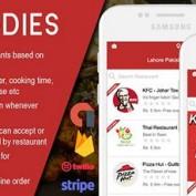 دانلود اپلیکیشن اندروید سیستم سفارش و تحویل غذا رستوران FOODIES