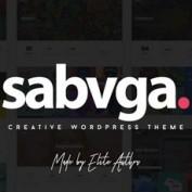 دانلود قالب خلاقانه Sabvga برای وردپرس